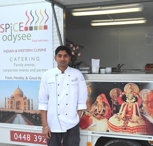 SPICE ODYSEE CURRY VAN